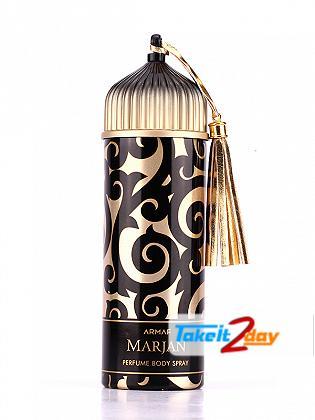 Armaf  Marjan Gold Deodorant Body Spray For Women 200 ML