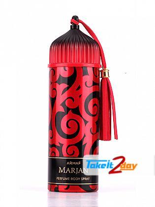 Armaf  Marjan Red Deodorant Body Spray For Women 200 ML