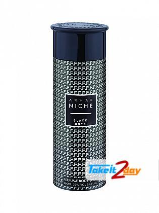 Armaf Niche Black Onyx Deodorant Body Spray For Men 200 ML