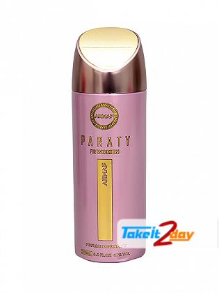 Armaf Paraty Deodorant Body Spray For Women 200 ML