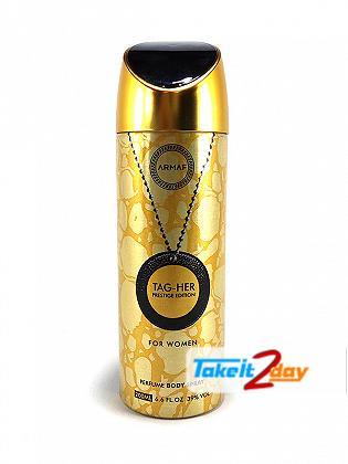 Armaf Tag Her Prestige Deodorant Body Spray For Women 200 ML
