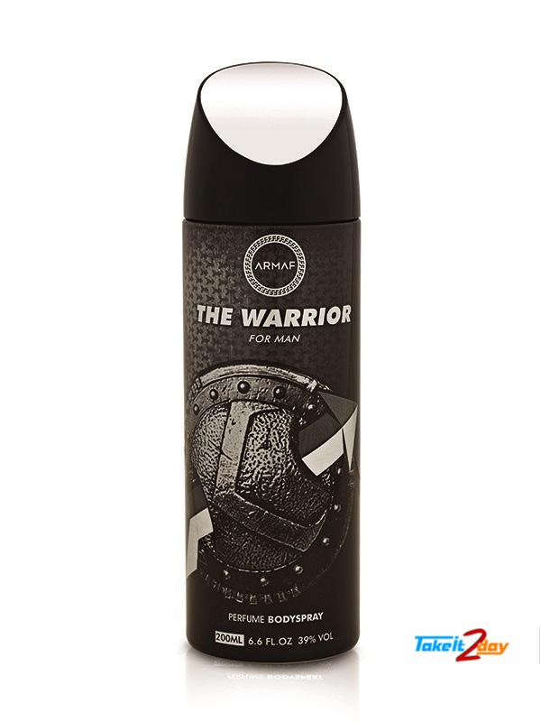 Armaf The Warrior Deodorant Body Spray For Men 200 ML (ARTH01)