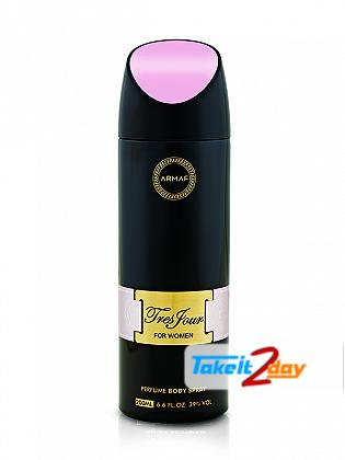 Armaf Tres Jour Deodorant Body Spray For Women 200 ML