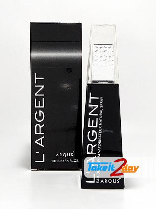 Arqus L Argent Pour Homme For Men 100 ML EDP By Lattafa Perfumes