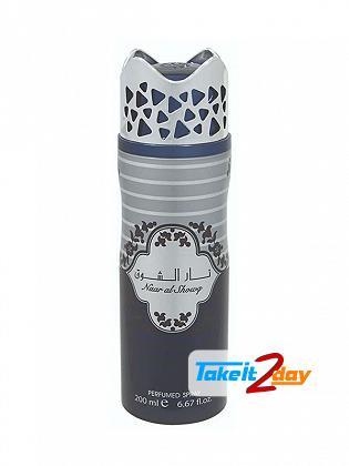 Asdaaf Naar Al Showq Deodorant Body Spray For Man And Women 200 ML