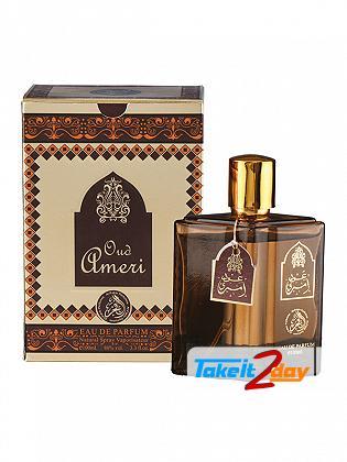 Al Fakhr Oud Ameri Perfume For Men And Women 100 ML EDP