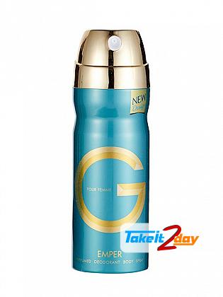 Emper G Women Perfume Deodorant Body Spray For Women 200 ML