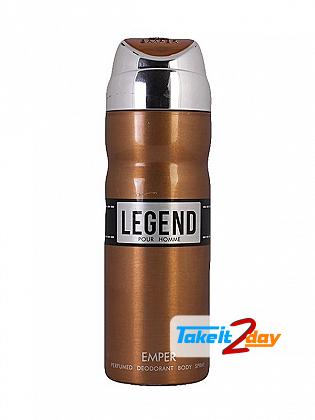 Emper Legend Perfume Deodorant Body Spray For Men 200 ML