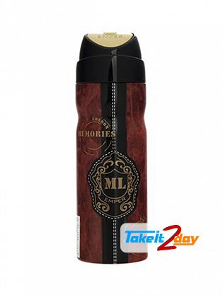 Emper Memories London Perfume Deodorant Body Spray For Women 200 ML