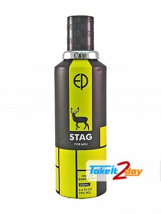 Estiara Stag Deodorant Body Spray For Men 200 ML By Sterling Perfumes