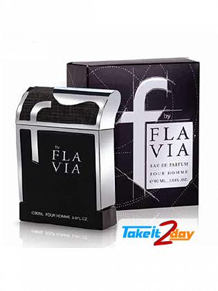 Flavia F Black Perfume For Men 90 ML EDP