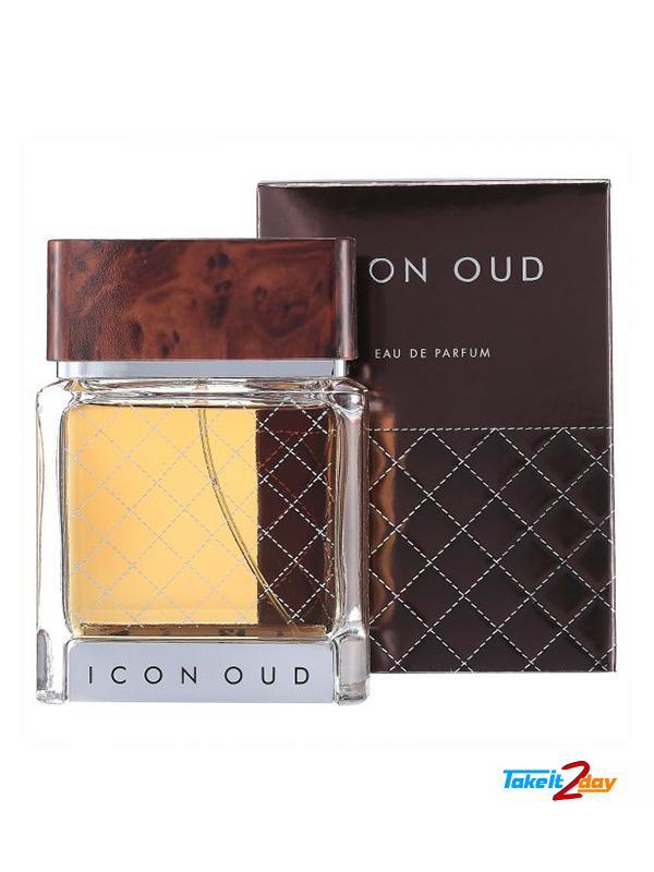 Flavia Icon Oud Pour Homme Perfume For Men 100 Ml Edp Form