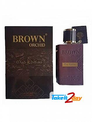Fragrance World Brown Orchid Oud Edition Perfume For Men 80 ML EDP