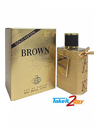 Fragrance World Brown Orchid Gold Edition Perfume For Men 80 ML EDP