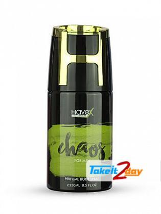 Havex Chaos Perfumed Deodorant Body Spray For Men 250 ML