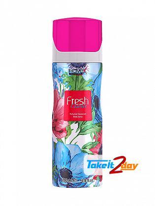 Havex Fresh Essence Perfumed Deodorant Body Spray For Women 200 ML