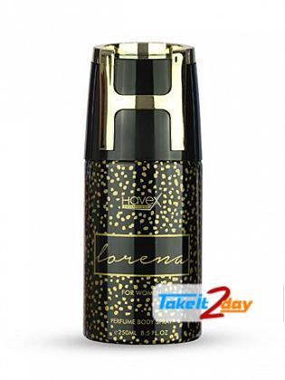 Havex Lorena Perfumed Deodorant Body Spray For Women 250 ML