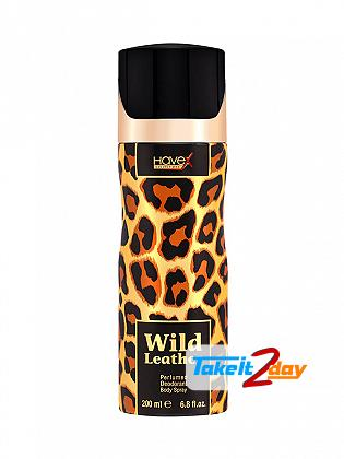 Havex Wild Leather Perfumed Deodorant Body Spray For Men 200 ML