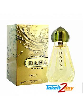 Khalis Baha Pour Homme Perfume For Men 100 ML EDP