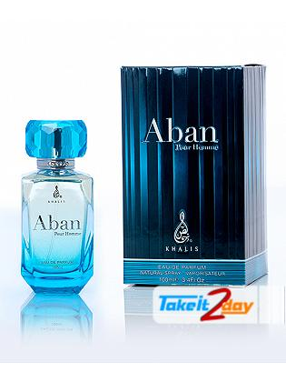 Khalis Aban Pour Homme Perfume For Men 100 ML EDP