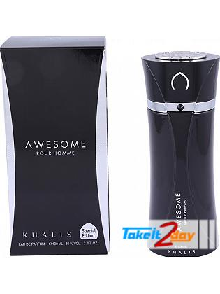 Khalis Awesome Pour Homme Perfume For Men 100 ML EDP