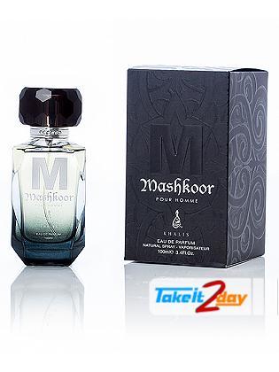 Khalis Mashkoor Pour Homme Perfume For Men 100 ML EDP
