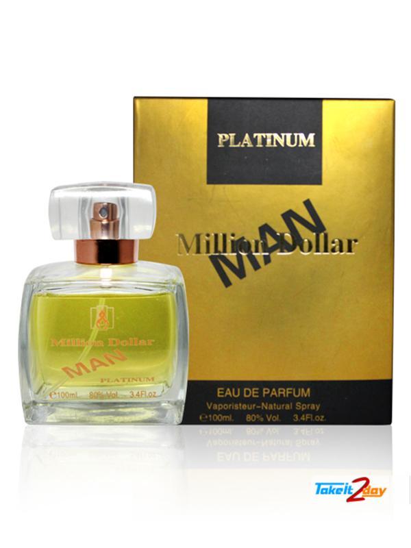Khalis Million Dollar Man Platinum Perfume For Men 100 Ml Edp
