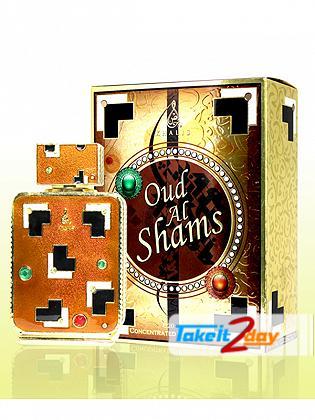 Khalis Oud Al Shams Perfume For Men And Women 20 ML CPO