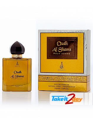 Khalis Oudh Al Shams Pour Homme Perfume For Men 100 ML EDP
