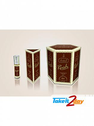 Khalis Rush Perfume Roll On For Men And Women 6 ML CPO Pack Of Six