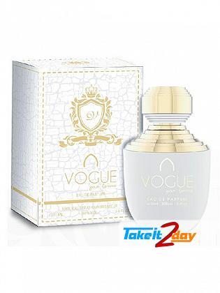 Khalis Vogue Pour Femme Perfume Women 100 ML EDP