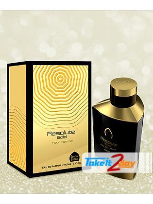 Khalis Resolute Gold Pour Homme Perfume For Men 100 ML EDP