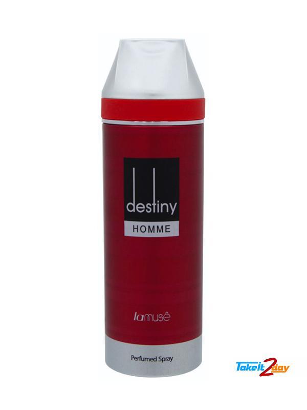 La Muse Destiny Homme Perfume Deodorant Body Spray For Man
