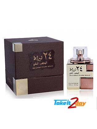Lattafa 24 Carat Pure Gold Perfume For Men And Women 100 ML EDP
