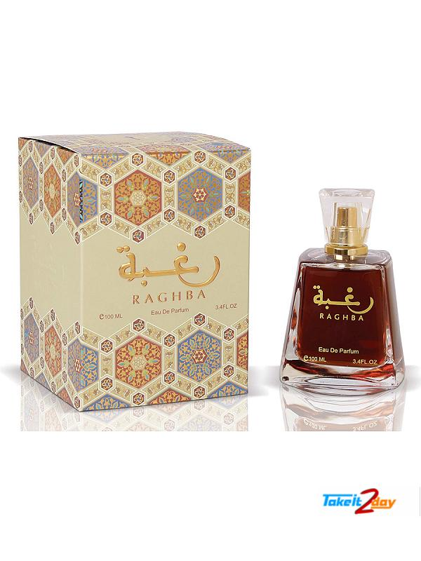 Lattafa Raghba Perfume For Men And Women 100 ML EDP (LARA01)