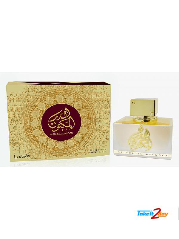 Lattafa Al Dur Al Maknoon Gold Perfume For Men And Women 100 ML EDP (LAALDUALMUGO01)