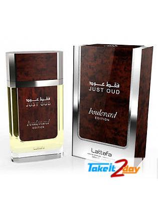 Lattafa Just Oud Boulevard Perfume For Men And Women 100 ML EDP