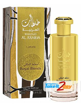 Lattafa Khaltaat Arabia Royal Blend Perfume For Men 100 ML EDP