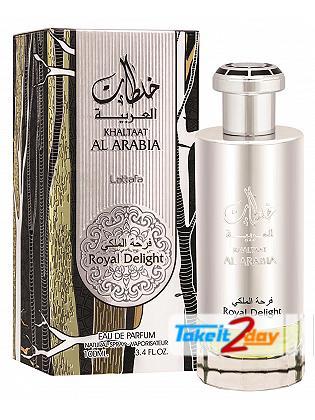 Lattafa Khaltaat Al Arabia Royal Delight Perfume For Women 100 ML EDP