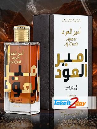 Lattafa Ameer Al Oudh Intense Oud Perfume For Men And Women 100 ML EDP
