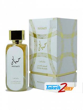 Lattafa Hayaati Gold Elixir Perfume For Man And Woman 100 ML EDP