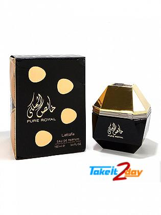 Lattafa Pure Royal Perfume For Men And Women 100 ML EDP