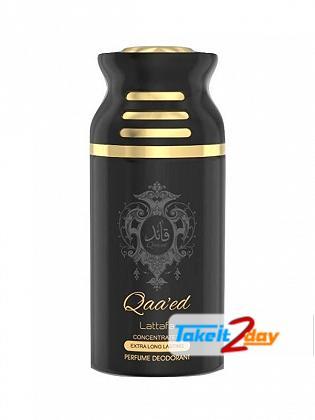 Lattafa Qaa ed Perfume Deodorant Body Spray For Men And Women 250 ML
