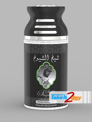 Lattafa Sheikh Al Shuyukh Perfume Deodorant Body Spray For Men And Women 250 ML
