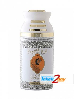 Lattafa Sheikh Shuyukh Khusoosi Perfume Deodorant Body Spray For Men And Women 250 ML