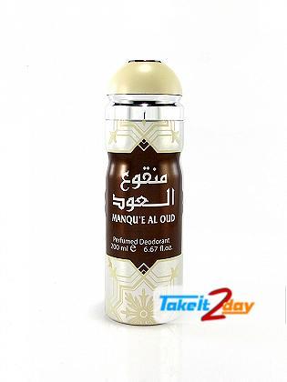 Al Raheeb Manque Al Oud Deodorant Body Spray For Men And Women 200 ML By Lattafa