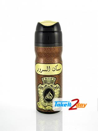 Lattafa Musk Al Suroor Deodorant Body Spray For Men And Women 200 ML