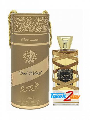 Lattafa Oud Mood Elixir Perfume For Man And Woman 100 ML EDP