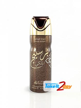 Lattafa Prestige Al Maleki Luxury Edition Deodorant Body Spray For Men And Women 200 ML