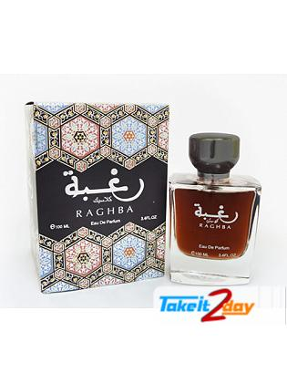 Lattafa Raghba Classic Perfume For Men And Women 100 ML EDP